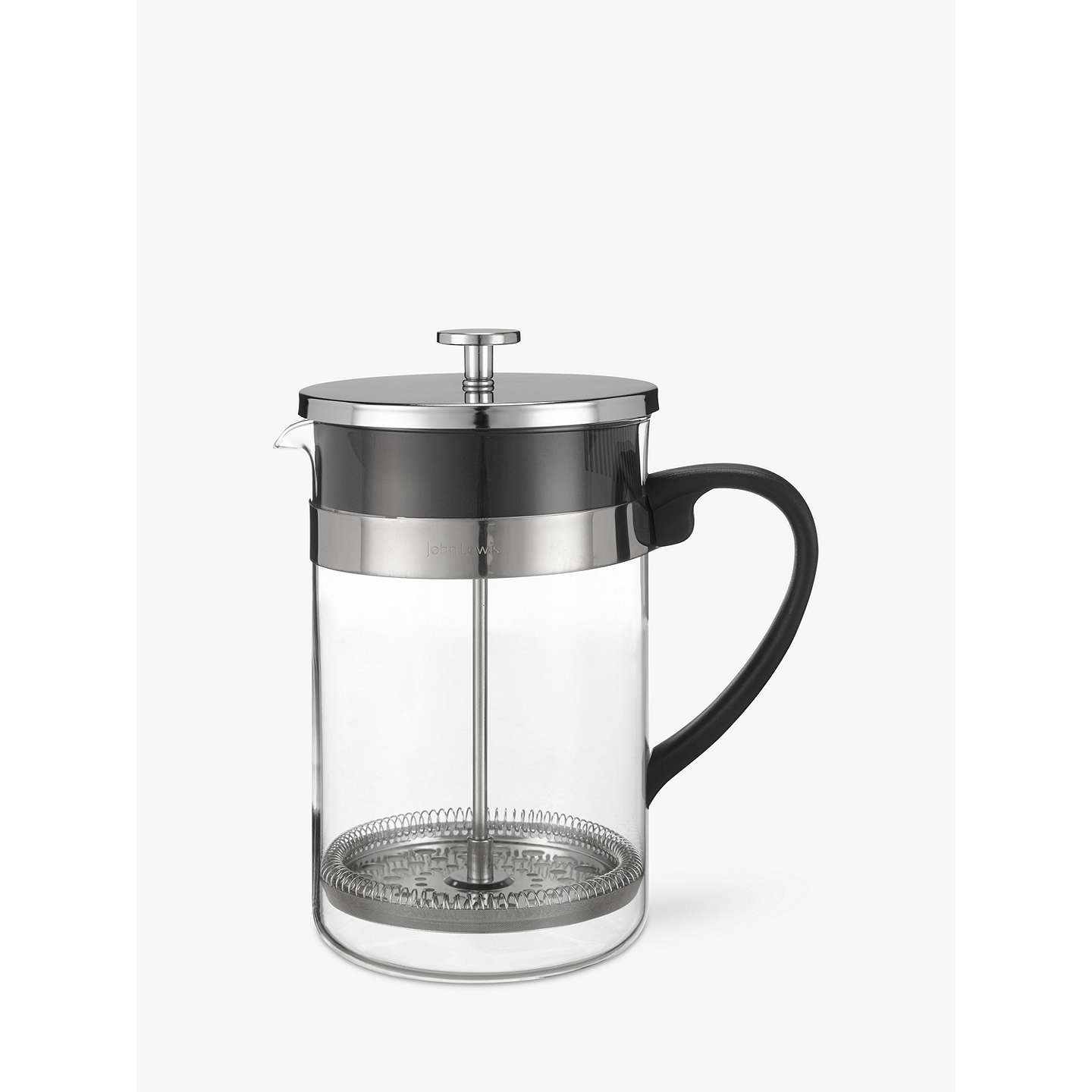 house by john lewis cafetiere 12 cup at john lewis. Black Bedroom Furniture Sets. Home Design Ideas