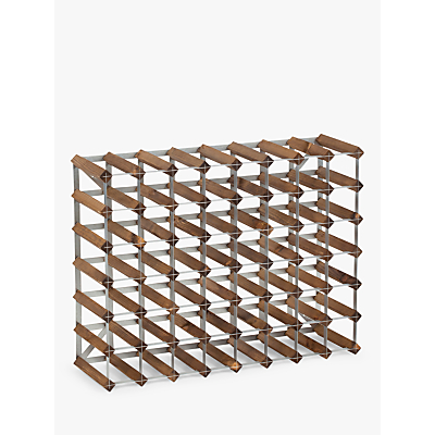 Traditional Wine Rack Co. Redwood Wine Rack, 56 Bottle, Dark Oak Stain