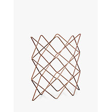 Buy John Lewis Scandi Copper Wine Rack, 9 Bottle Online at johnlewis.com
