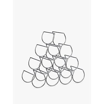 John Lewis Triangular Wine Rack, 10 Bottle