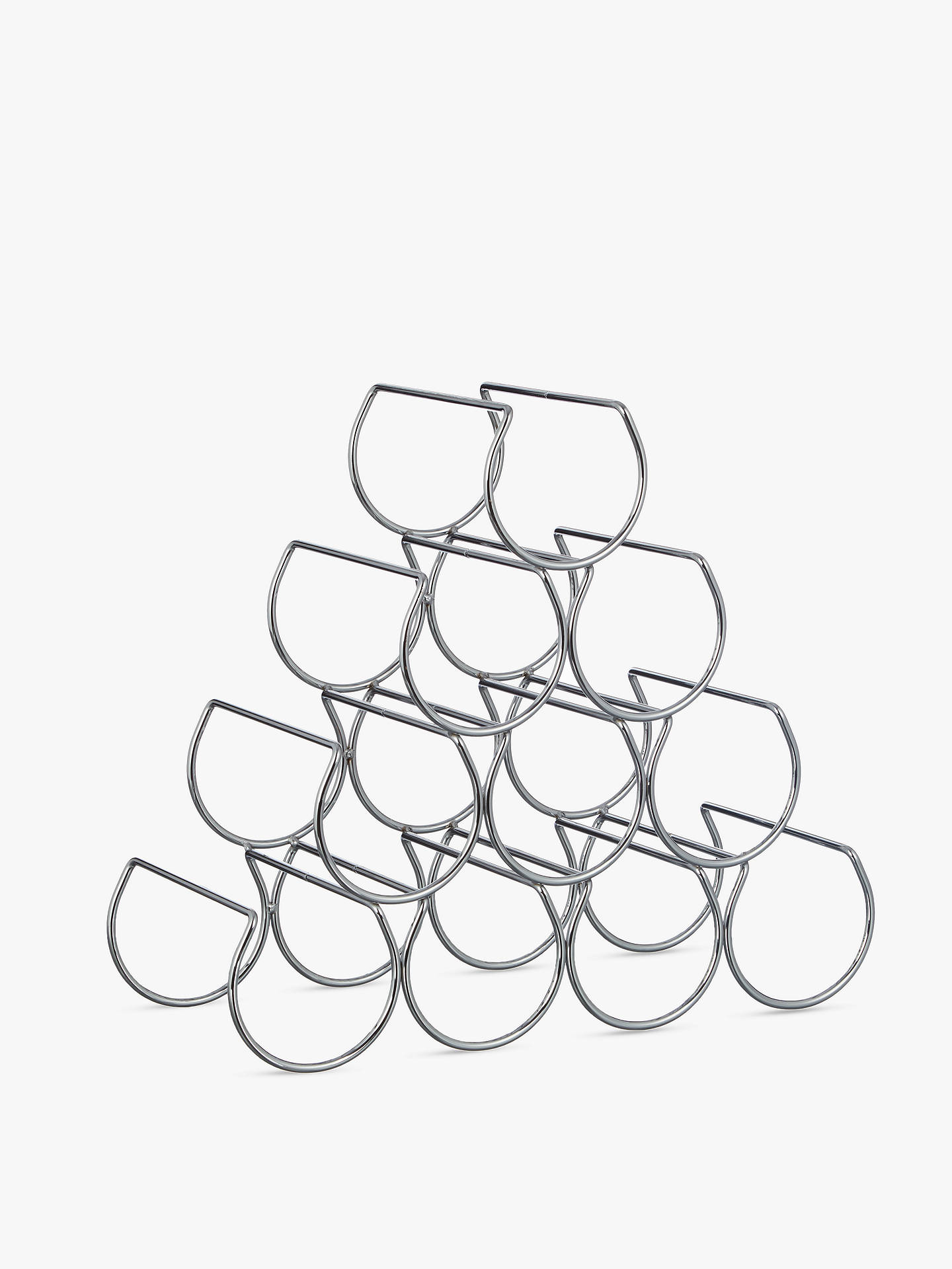 BuyJohn Lewis & Partners Triangular Wine Rack, 10 Bottle Online at johnlewis.com