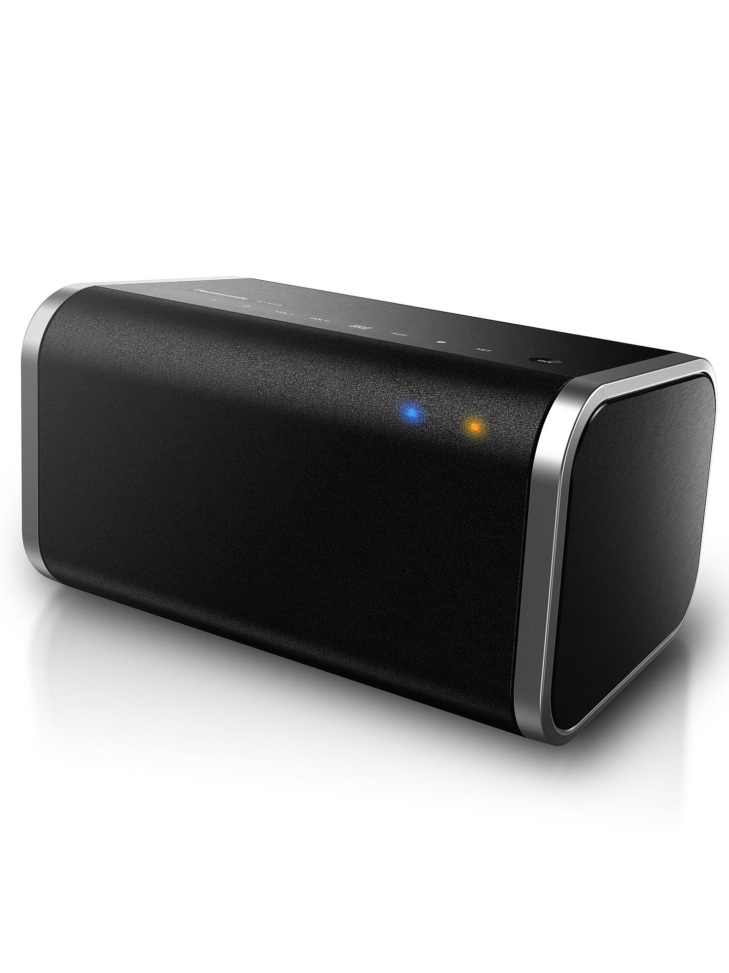 Buy Panasonic SC-ALL6EB-K Multiroom Speaker with Bluetooth, High-Resolution Audio, Black Online at johnlewis.com