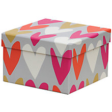 Buy Caroline Gardner Hearts Gift Box, Medium Online at johnlewis.com