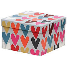 Buy Caroline Gardner Hearts Gift Box, Large Online at johnlewis.com