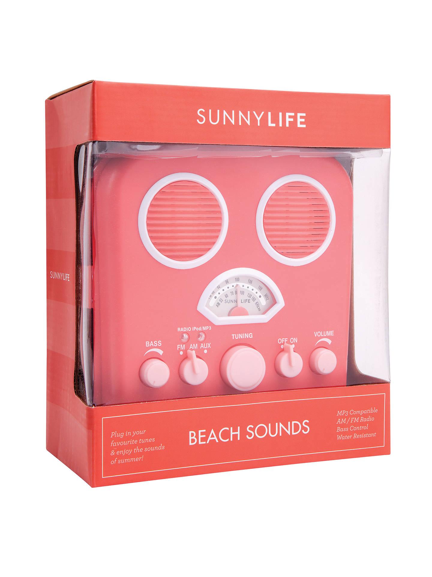 Sunnylife Beach Sounds Radio C At John Lewis Partners