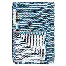 Buy John Lewis Honeybee Cotton Knitted Throw Online at johnlewis.com
