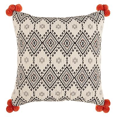 John Lewis Leillo Pom Pom Cushion