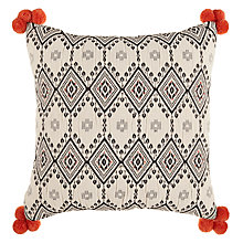 Buy John Lewis Leillo Pom Pom Cushion Online at johnlewis.com