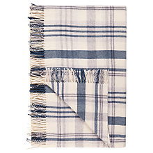 Buy John Lewis Croft Collection Snowshill Appin Check Wool Throw Online at johnlewis.com