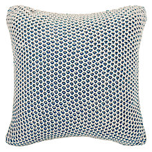 Buy John Lewis Honeybee Cushion, Spruce Online at johnlewis.com