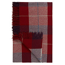 Buy John Lewis Ruskin House Check Wool Throw Online at johnlewis.com