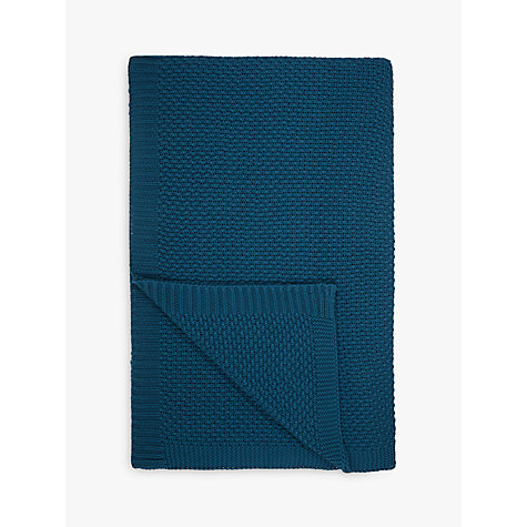 Buy John Lewis Textured Knitted Throw Online at johnlewis.com
