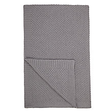 Buy John Lewis Moet Knitted Throw Online at johnlewis.com