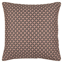 Buy John Lewis Croft Collection Weave Cushion, Rosa Online at johnlewis.com