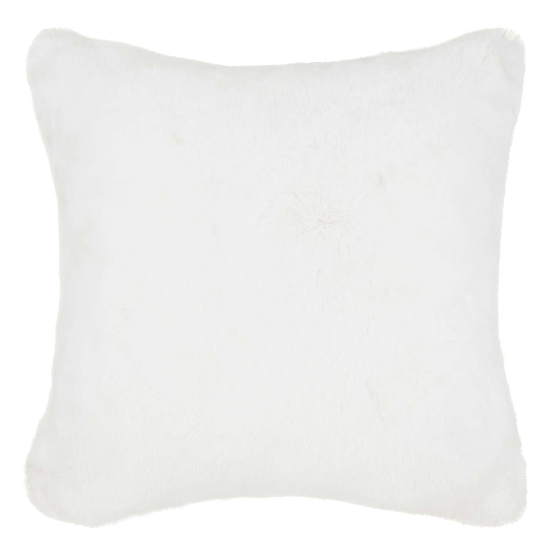 John Lewis Soft Faux Fur Floor Cushion At John Lewis