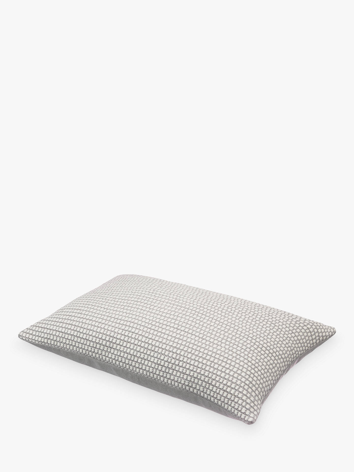 BuyDesign Project by John Lewis No.050 Cushion, Blue Grey Online at johnlewis.com