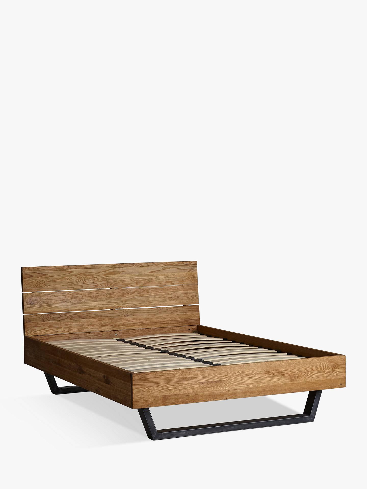 Buyjohn lewis partners calia bed frame king size oak online at johnlewis