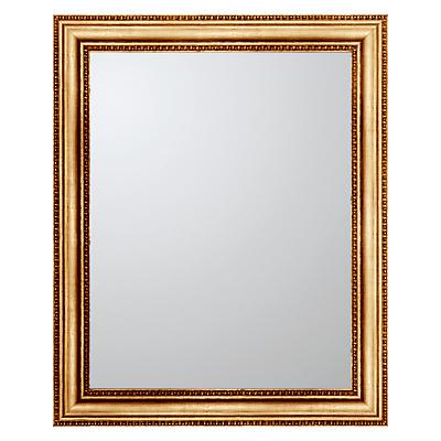 John Lewis Beaded Rectangle Mirror, 78 x 62cm