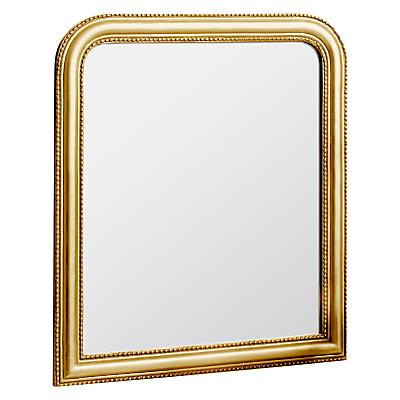 John Lewis Beaded Overmantle Mirror, 120 x 94cm