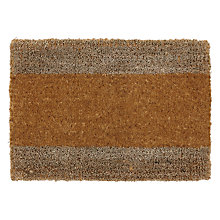 Buy John Lewis Croft Collection Coir And Seagrass Door Mat Online at johnlewis.com