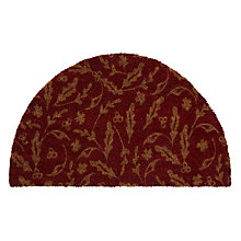Buy John Lewis Ruskin House Doormat Rug, Red Online at johnlewis.com