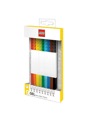 Buy LEGO Gel Pens, Pack of 9 Online at johnlewis.com