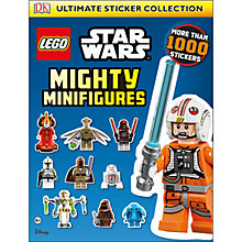 Buy LEGO Star Wars Mighty Minifigures Sticker Collection Online at johnlewis.com