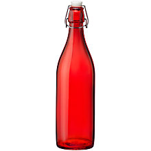Buy House by John Lewis Pura Bottle, Red Online at johnlewis.com