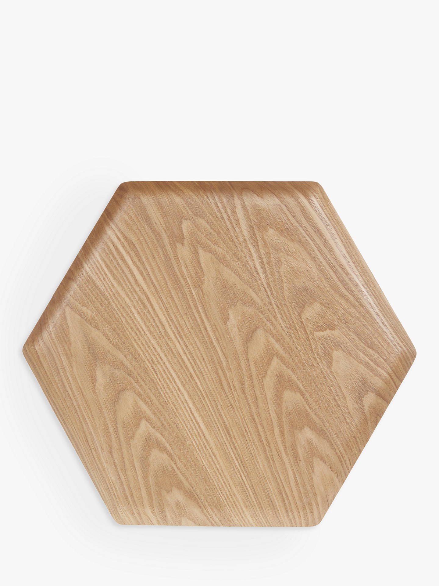 94d9581e1ce00 House by John Lewis Hexagonal Wood Tray