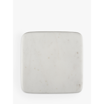 Croft Collection Arundel Square Marble Coasters, Set of 4