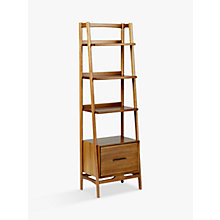 Buy west elm Mid-Century Narrow Bookshelf Online at johnlewis.com