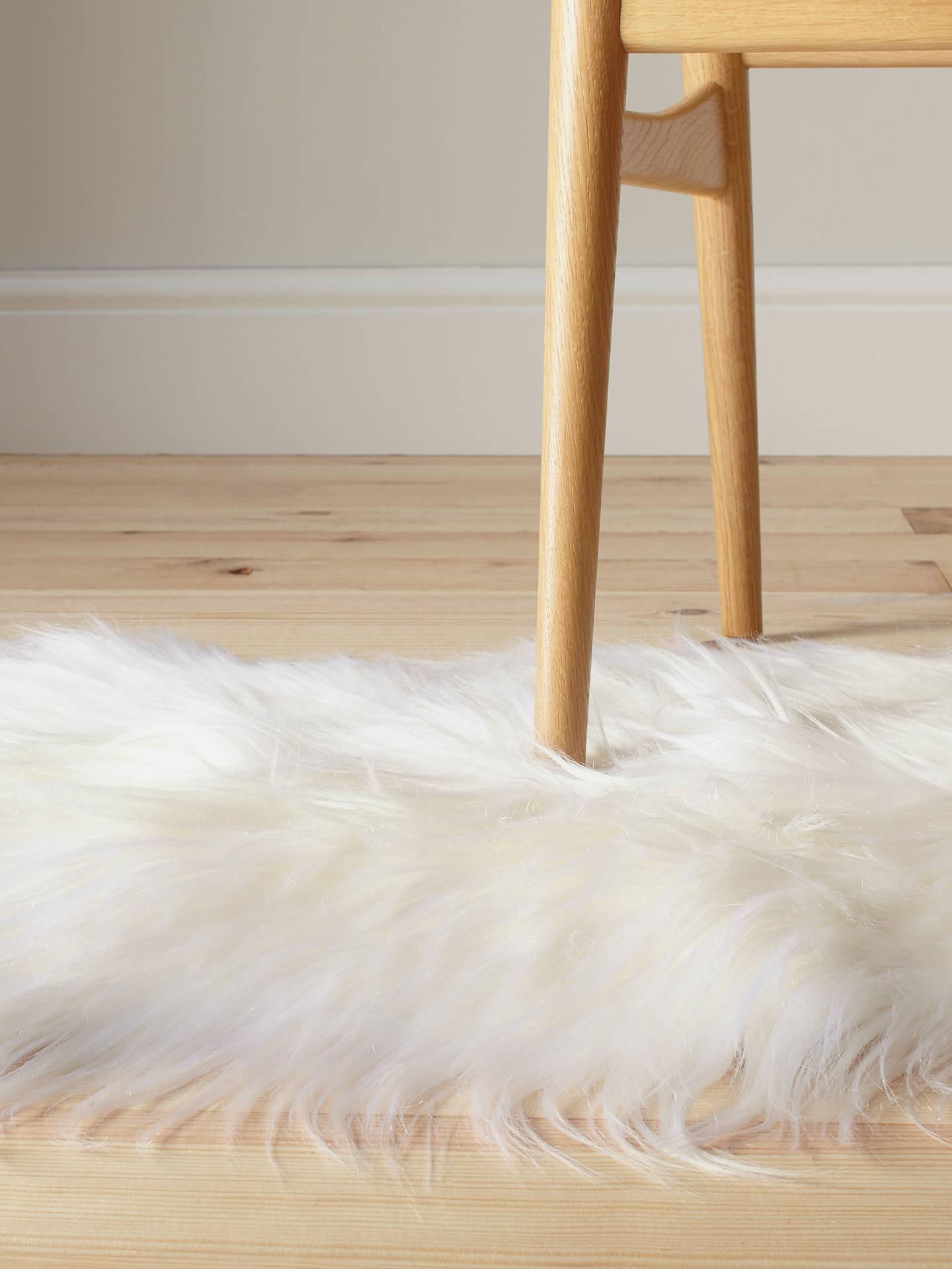 Buy John Lewis & Partners Icelandic Sheepskin Rug, Large Online at johnlewis.com