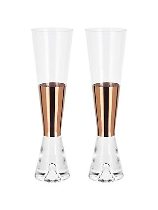 Tom Dixon Tank Champagne Glasses, Set of 2