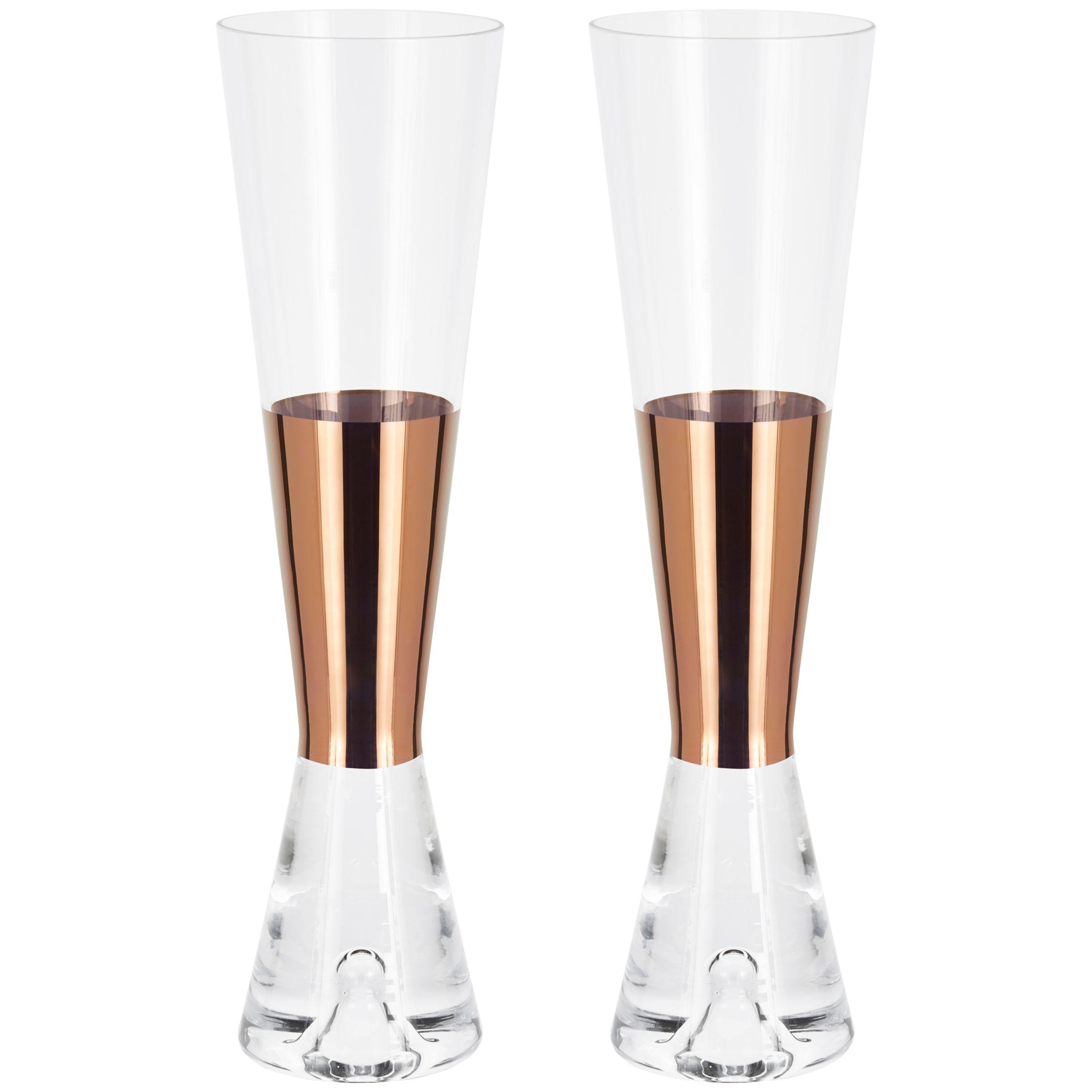 Tom Dixon Tom Dixon Tank Champagne Glasses, Set of 2