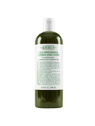 Kiehl's Cucumber Herbal Alcohol-Free Toner, 500ml