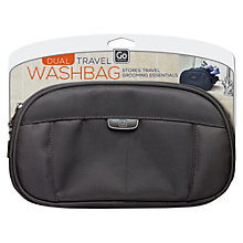 Buy Go Travel Dual Washbag Online at johnlewis.com