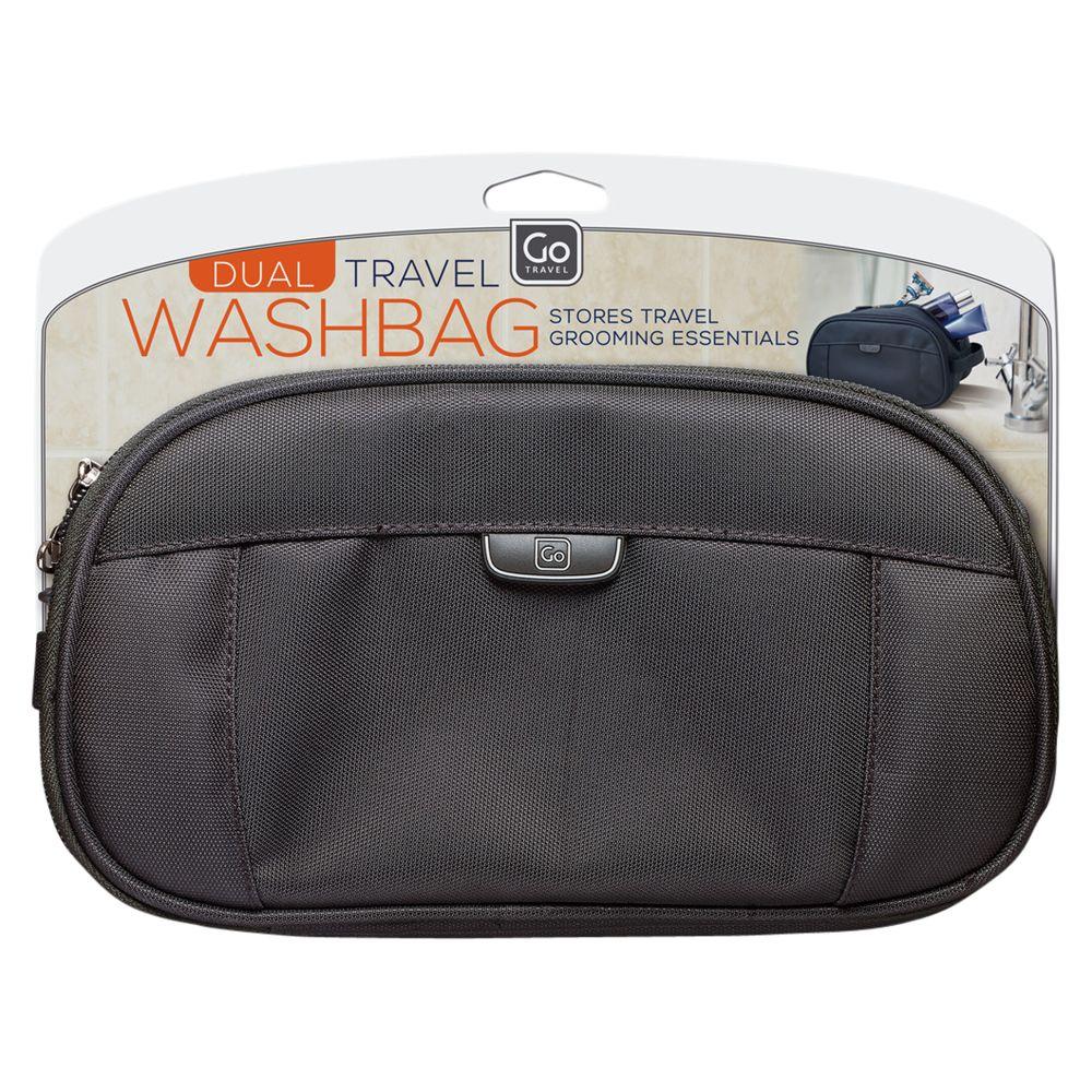 Go Travel Go Travel Dual Washbag, Assorted