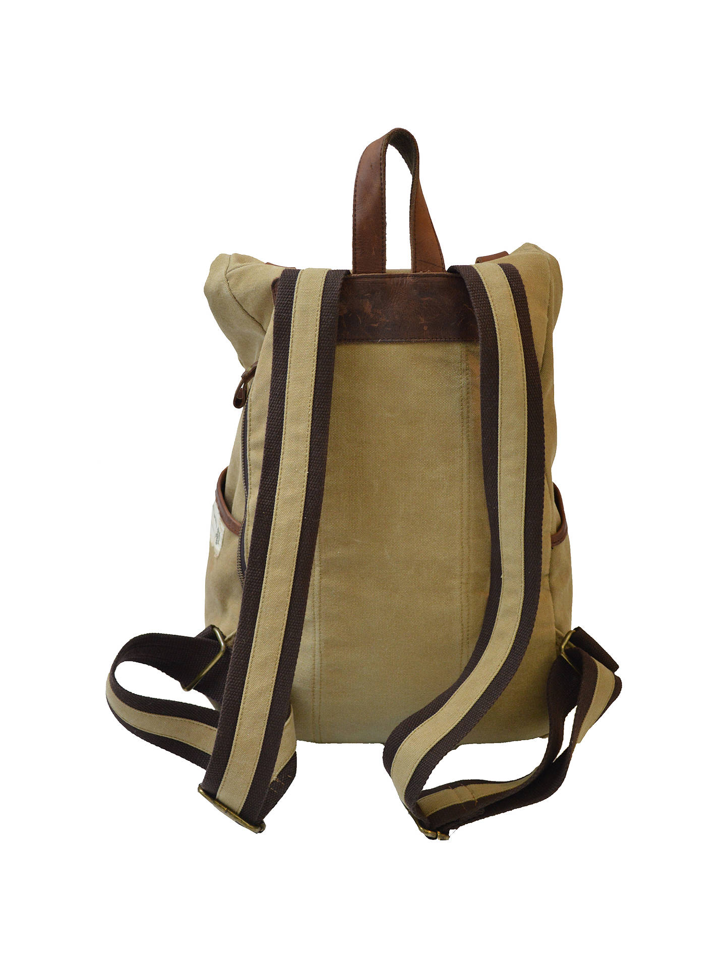 ... BuyGandys Bali Authentic Voyager Backpack, Beige Online at  johnlewis.com ... 74b11da48d
