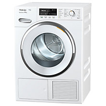 Buy Miele TMG 840 Freestanding Heat Pump Tumble Dryer, 8kg Load, A+++ Energy Rating, White Online at johnlewis.com