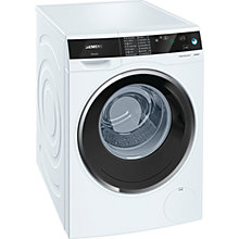 Buy Siemens avantgarde iSensoric Freestanding Washing Machine, 9kg Load, A+++ Energy Rating, 1400rpm Spin Online at johnlewis.com