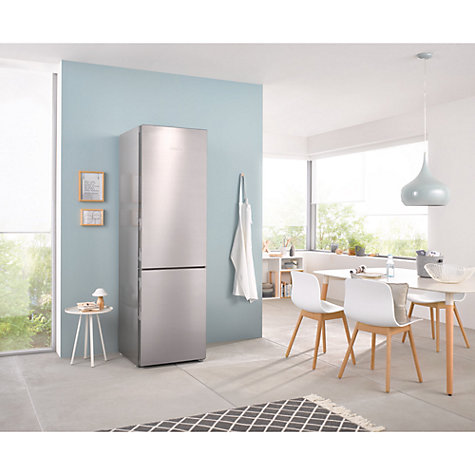 Buy Miele KFN 29233 EDT/CS Fridge Freezer, A+++ Energy Rating, 60cm Wide, Stainless Steel Online at johnlewis.com