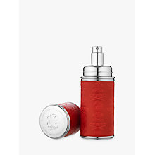 Buy CREED Silver Trim Leather Bound Refillable Atomiser, 50ml Online at johnlewis.com