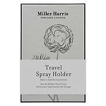 Buy Miller Harris Travel Spray Holder, 9ml Online at johnlewis.com