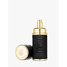 Buy CREED Gold Trim Leather Bound Refillable Atomiser, 50ml Online at johnlewis.com