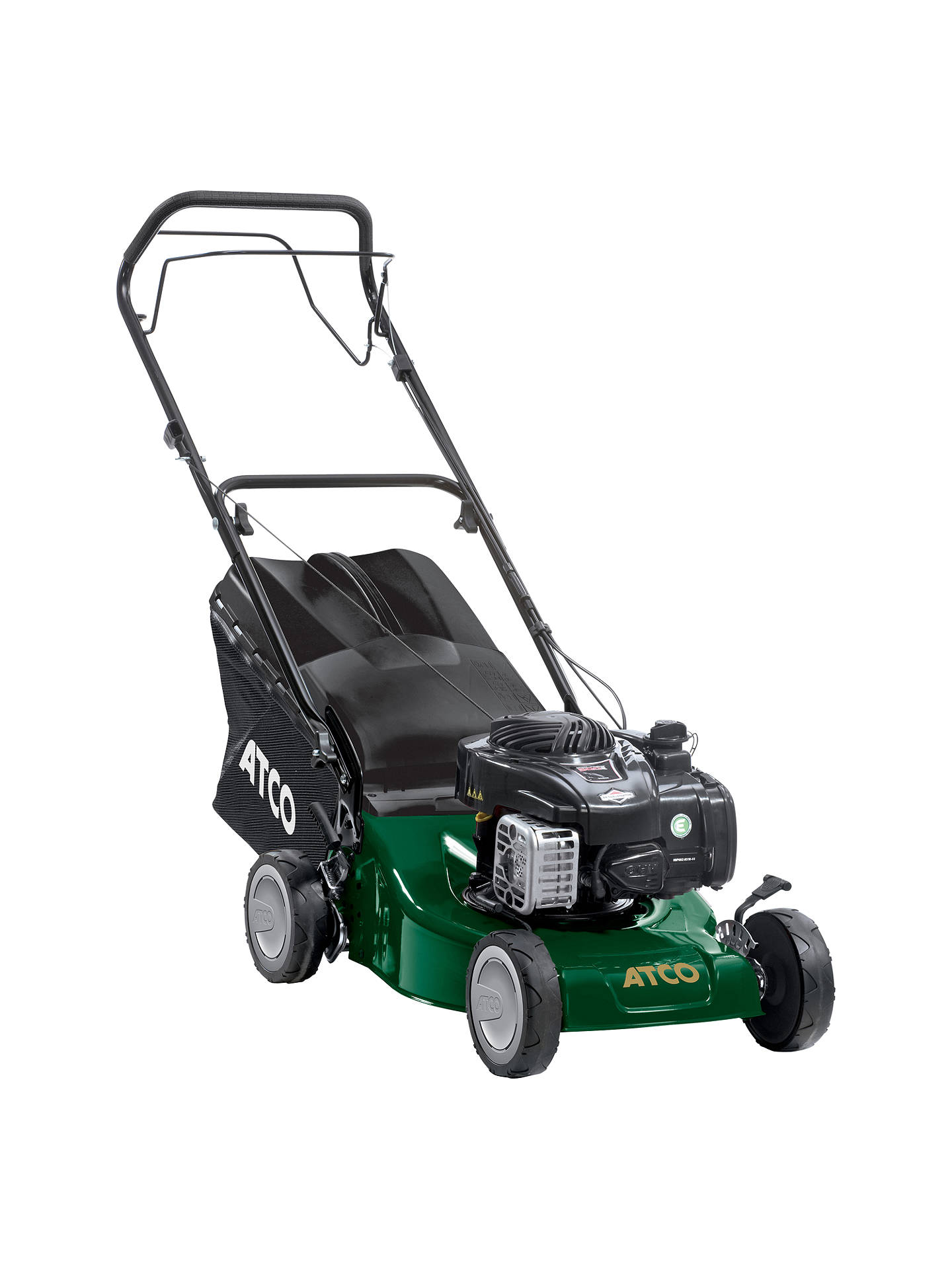 BuyAtco Quattro 16S 41cm Self-propelled Petrol Lawnmower Online at johnlewis.com