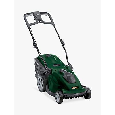 Image of Atco 15E 38cm Rear Roller Electric Lawnmower