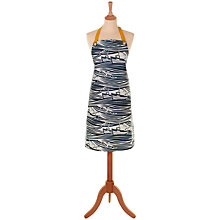Buy Mini Moderns Whitby Oilcloth Apron, Blue Online at johnlewis.com