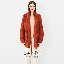 Buy Debbie Bliss Roma Weave Knitting Pattern Booklet Online at johnlewis.com