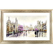 Buy Richard Macneil - Cambridge Spires Framed Print, 112 x 72cm Online at johnlewis.com