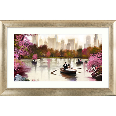Richard Macneil – New York Haze Framed Print, 112 x 72cm